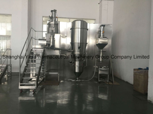 30kg Capacity Closed Fluid Bed Drying Granulating System