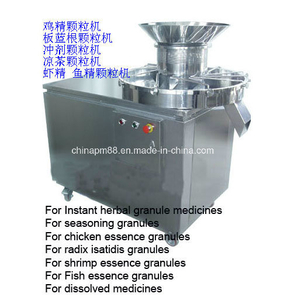 High Efficient Pharmaceutical Chemical Rotary Granulator Machine